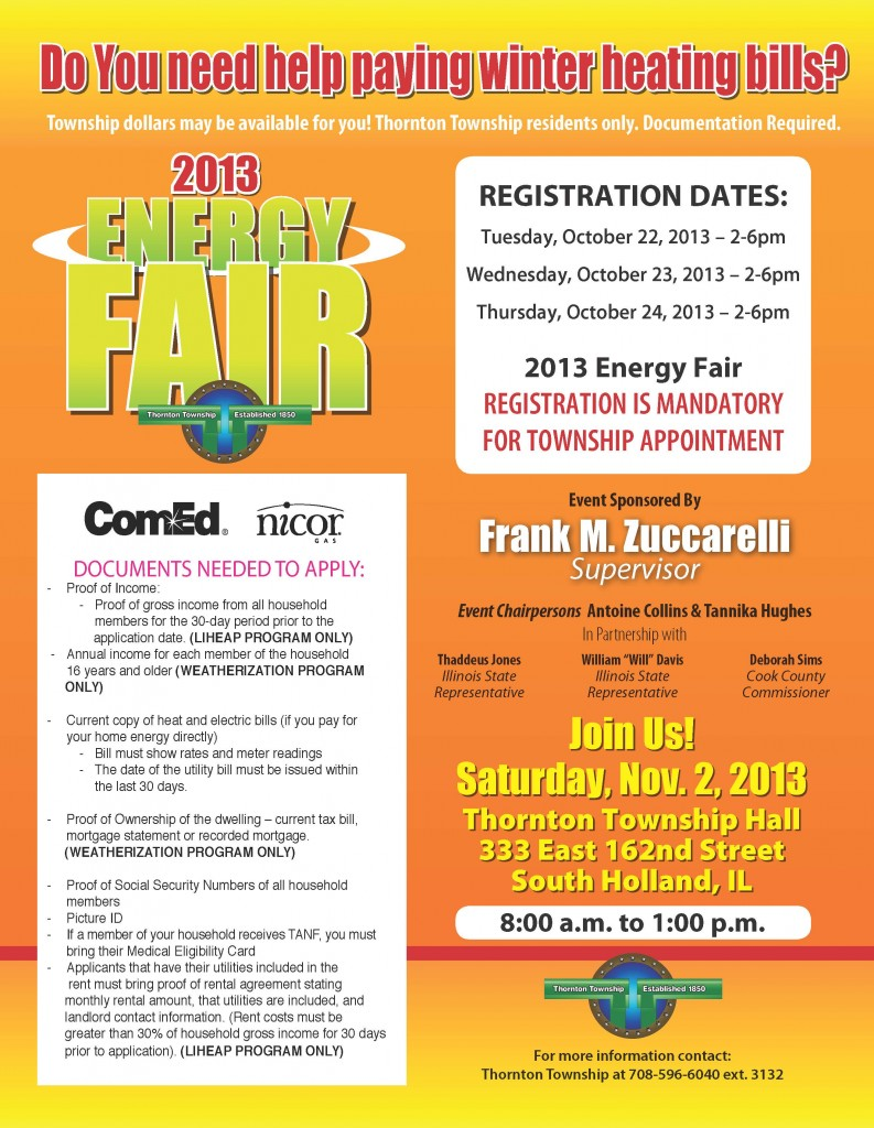 Energy Registration Flyer
