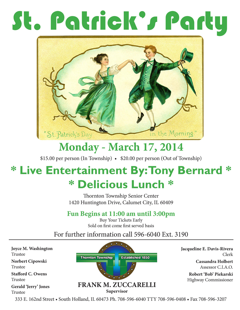 Senior Citizen St Patricks Day Party 2014 small