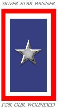 Silver Star Banner