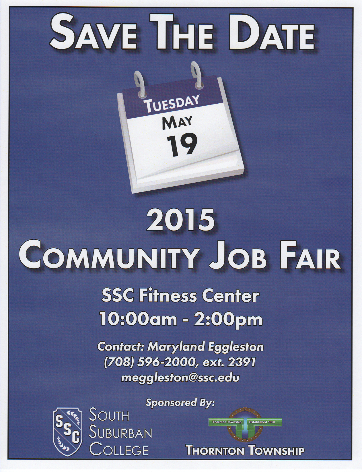 2015 job fair save the date