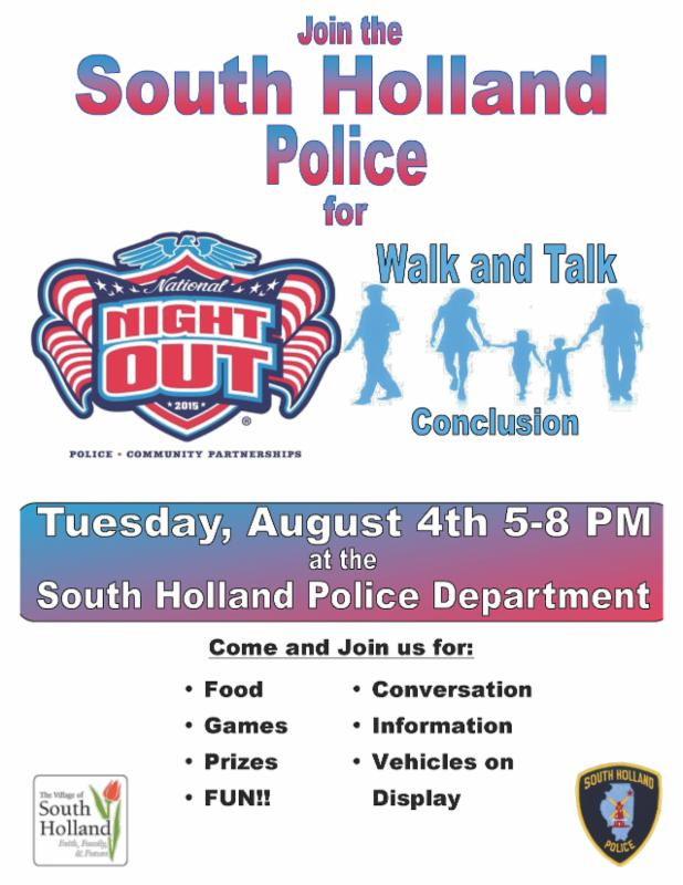 SHPD night out 8-4-15