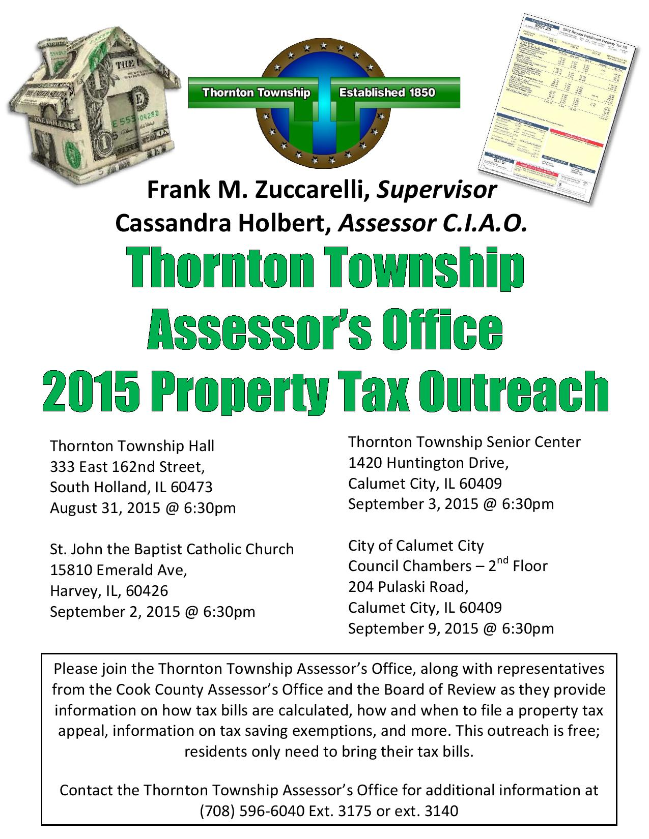 Thornton Township Property Tax Assessment Workshop 2015 flyer-page-001 (1)